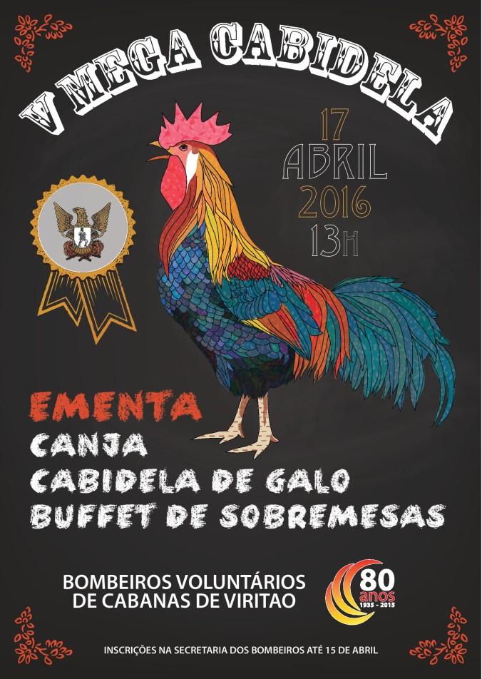 No próximo dia 17 de Abril teremos mais uma edição da Mega Cabidela .Inscrições na secretaria.